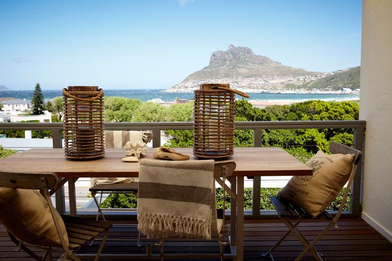 Balcony views - Beach Penthouse - stunning sea views - Hout Bay - rentals