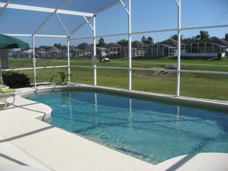 Views overlooking the golf course - South Facing, Private Pool, Overlooks Golf Course - Davenport - rentals