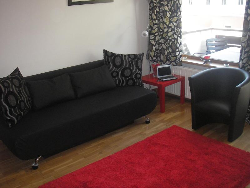 Lounge with sofa bed - Spacious 2 Bed Apartment with Stunning Lake Views - Zell am See - rentals