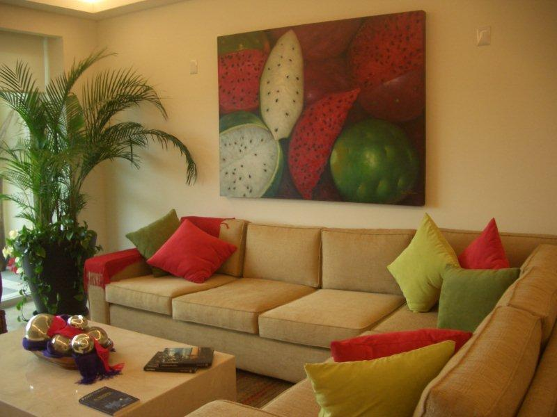 sample living room - Ajijic Mexico Resort Style Condo - Ajijic - rentals