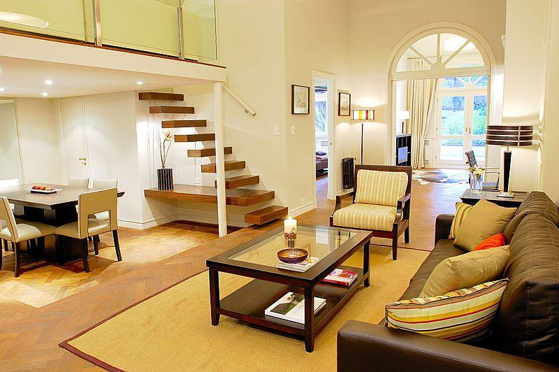 LIVING ROOM - Luxury French Style Garden Apartment - Recoleta - Buenos Aires - rentals