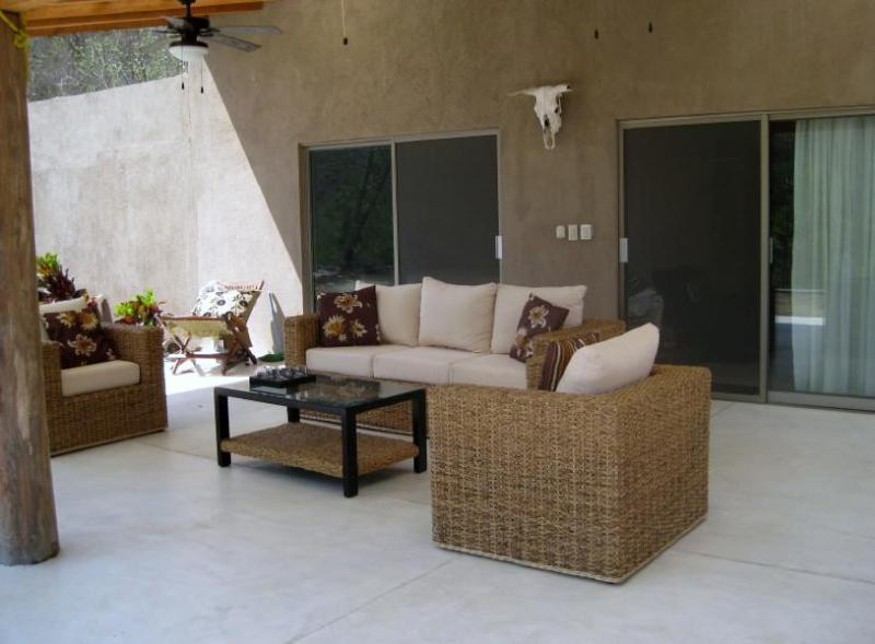 Living Area - Great Value! The River House- Zimatan - Huatulco - rentals