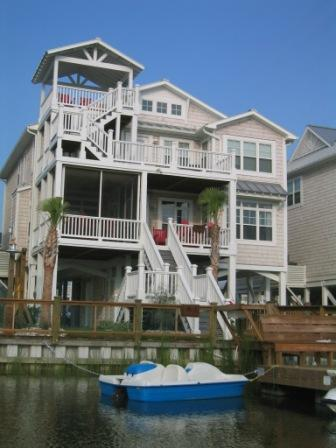 Beach House + Private Dock - Luxury Beach House,Private Dock and Walk to Beach - Ocean Isle Beach - rentals