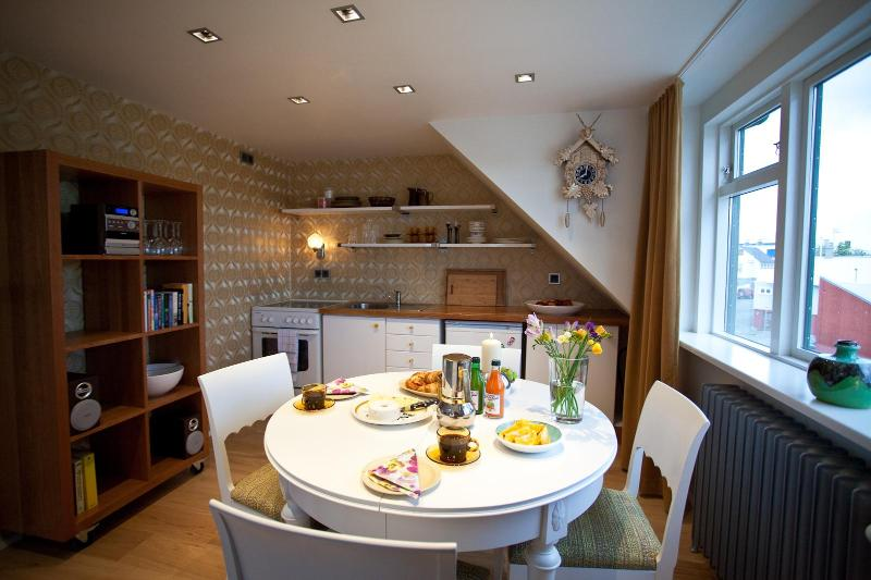 kitchen / dining room - Centrally located beautiful apartment - Reykjavik - rentals