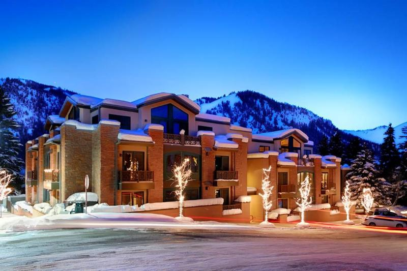 Exterior of Olympic Terrace Building - Olympic Terrace Luxury Penthouse- Sun Valley - Ketchum - rentals