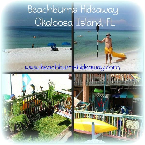 Beachbums Hideaway Collage2 - Beachbums Hideaway--A unique beachfront studio apt - Okaloosa Island - rentals