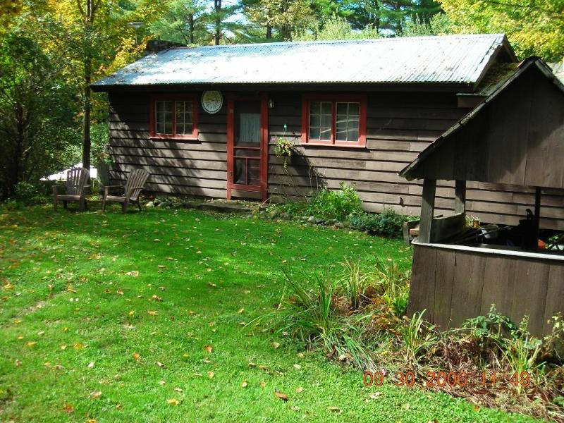 Front - Secluded cabin getaway in rural Vermont. - Fairlee - rentals