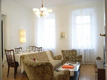 Living Room - Apartment Rose - Vienna City Center - rentals