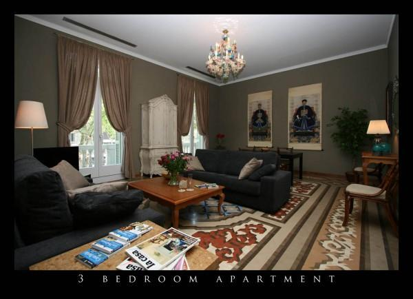 Living Room - Elegant Apartment in  prestigious Paseo de Gracia - Barcelona - rentals