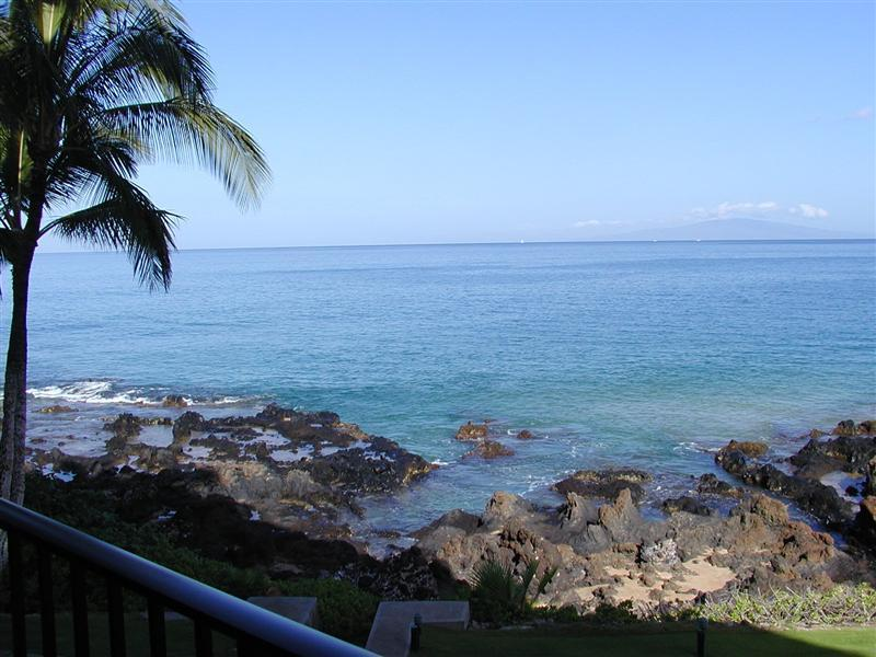 View from the private lanai of KS202 - KS202 - Spectacular Premium Oceanfront - The Best! - Kihei - rentals