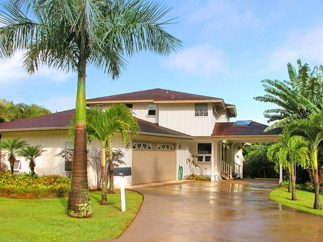 Our Spacious 4300 sq ft Home and Tropical Gardens - Spacious & Elegant 5 Bedroom - Spectacular Views - Princeville - rentals