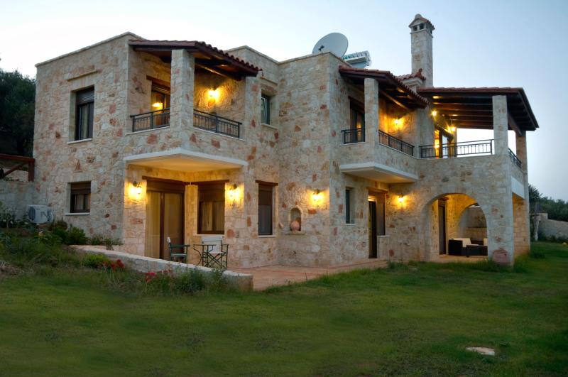 Harmony Villa, a stone villa ideal for relaxation - Image 1 - Chania - rentals