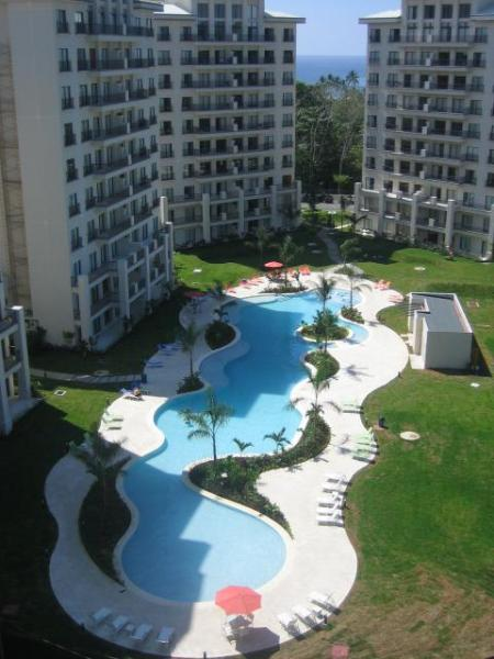 Pool- Towers 4,5,6. #4302 Tower 4, 4th Floor, left side - JBCR2  4302 @ Ramada - Jaco - rentals