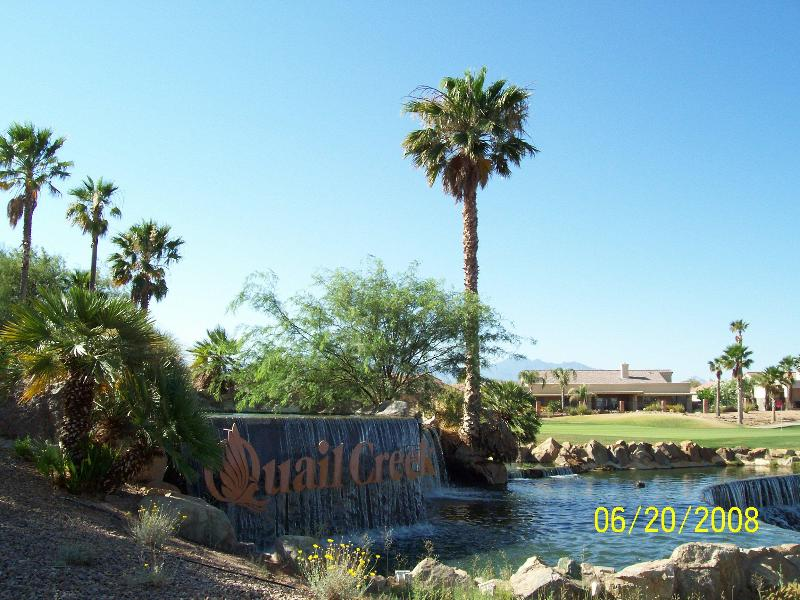 Fountain near entry to Quail Creek Community - Great Value - Quail Creek 2BR/2BA House - Green Valley - rentals