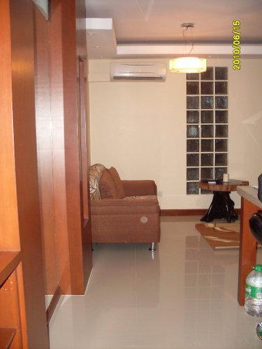 Entrance and Living Room - Condo Unit -The Fort Bonifacio Global City, Manila -  - rentals