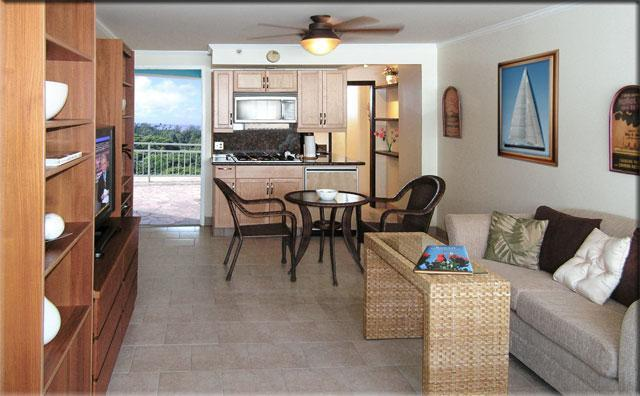 Living area of your home away from home - Waikiki Parkview Hideaway - Honolulu - rentals