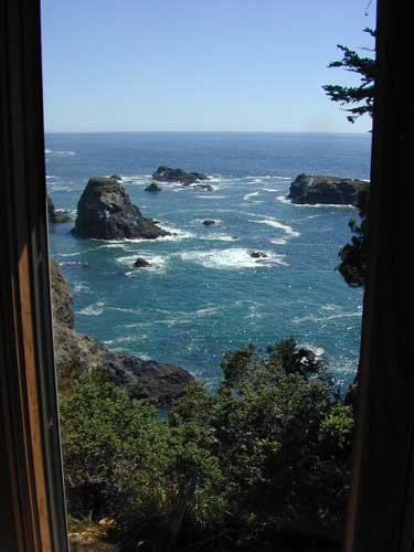 Dramatic ocean views - Colby Reef Cottage - a delightful oceanfront - Mendocino - rentals
