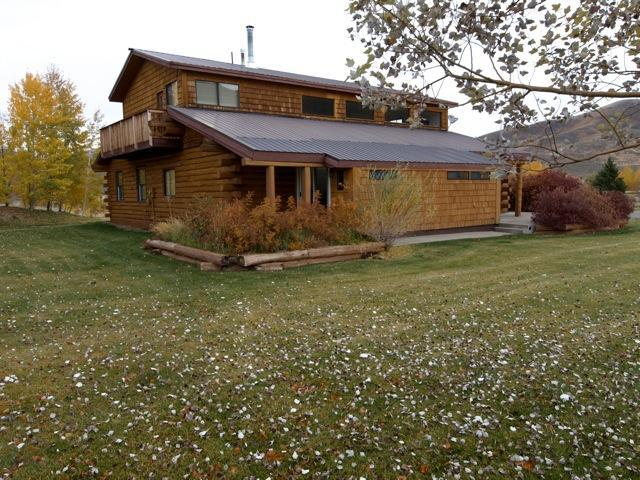 Side view of spacious home on 5 acres - full mountain views all around - Sun Valley Area Fab - Vacation Home - Sun Valley - rentals