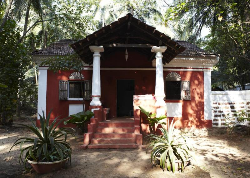La Casita entrance & verandah - La Casita Vacation Home - Candolim - rentals
