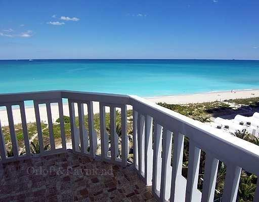 view from beachfront wrap-around balcony - 3BR/2BTH Beachfront Miami Beach - long-term ONLY - Miami Beach - rentals