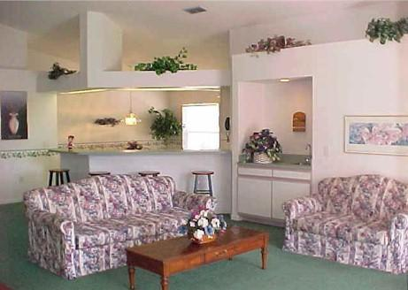 Great Room looking to Breakfast Bar and Kitchen. - Disney Area Vacation Home by Paulette & Lee - Clermont - rentals