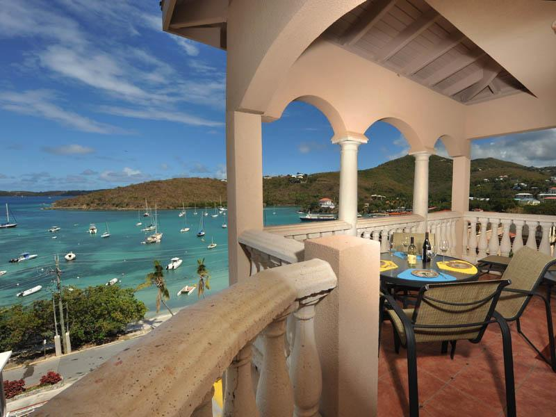 Breezy spacious wraparound balcony - Grande Bay Condo, 3 bed 2 bath, Panoramic View!! - Cruz Bay - rentals