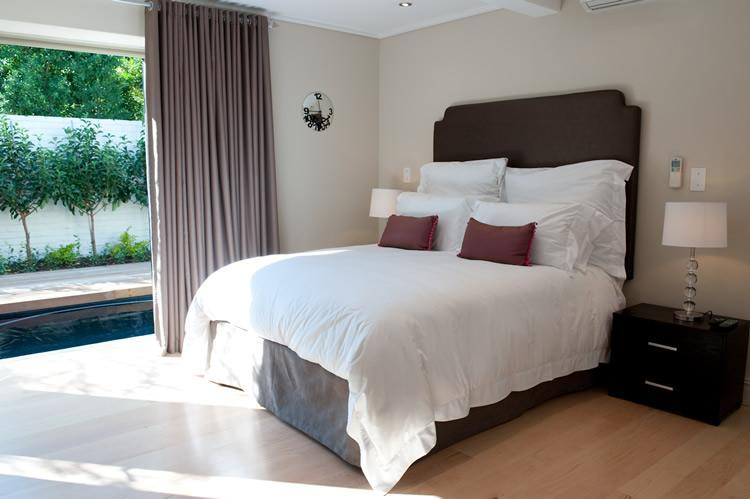 43-on-Cabriere: Main Bedroom - Franschhoek Villas: 43-on-Cabriere - Franschhoek - rentals