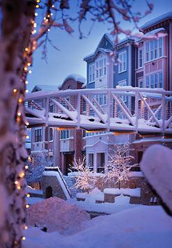 winter view on arrival at Marriott - Lowest price Park City, 2 suites for Dec - Park City - rentals