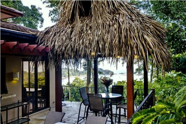 The villa is perfectly perched in a gorgeous jungle setting. - Stunning Beach Ocean View Villa with Pool! WiFi! - Dominical - rentals
