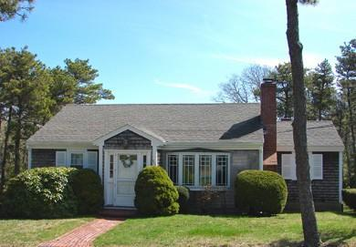 Front of House-crcular drive - Ridgevale Beach - Chatham - rentals