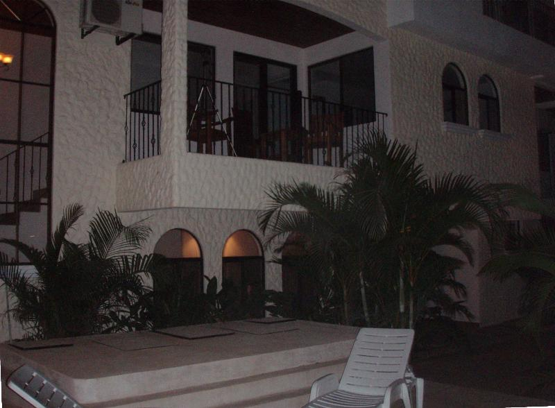our balcony from the pool - new luxury tamarindo condominium- walk to beach! - Tamarindo - rentals