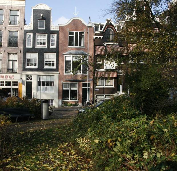 Front of house from park - Charming House in Center on Park with Back Garden - Amsterdam - rentals