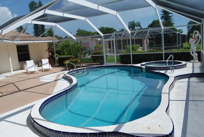 Waterfront pool home with spa - Image 1 - Cape Coral - rentals