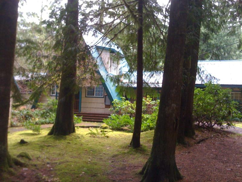 Front View of Home - Mt Hood's Favorite - Rhododendron - rentals