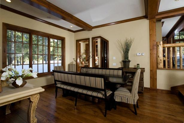 Dining Room - Luxury Custom Home on Sierra Star Golf Course - Mammoth Lakes - rentals