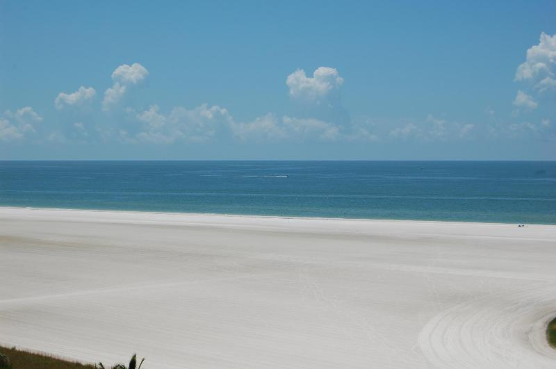 View from the balcony - South Seas Tower # 3      Marco Island Florida - Marco Island - rentals