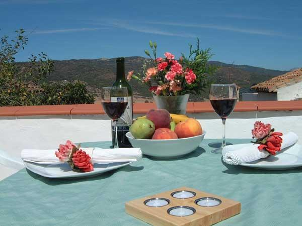 Lunch on the roof terrace? - Peace and Nature in Andalusia - Jimena de la Frontera - rentals