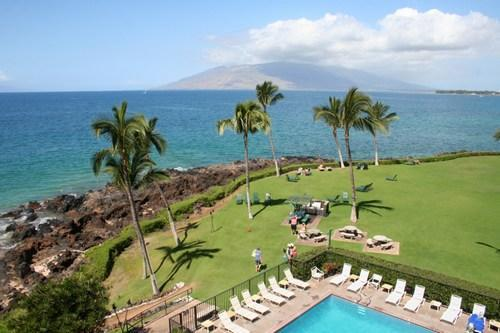 KS504 Gorgeous Oceanfront Unit Available May 13-21 - Image 1 - Kihei - rentals
