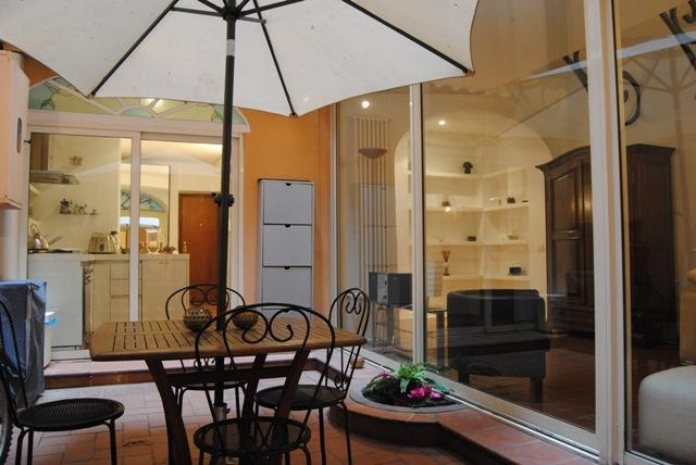Patio with view on living and dining - Colosseo Patio (WIFI) - Rome - rentals