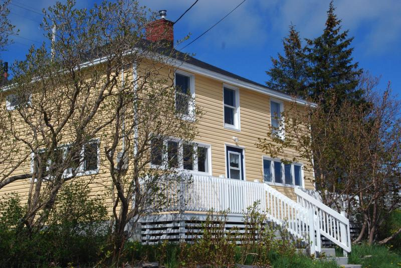 The Yellow House, Tors Cove - Ocean view house in Avalon cove near St John's - Newfoundland and Labrador - rentals