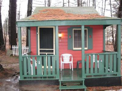 Exterior Cottage 3 - Sun Valley Cottages, Cottage #3 - Weirs Beach, NH - Laconia - rentals