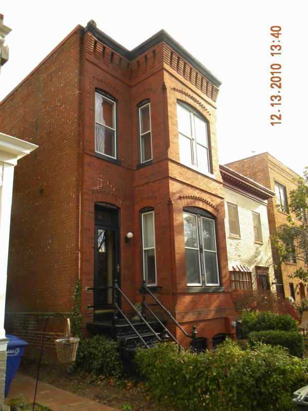Facade - 3 Bedroom Victorian - Washington,DC-Capitol Hill - Washington DC - rentals