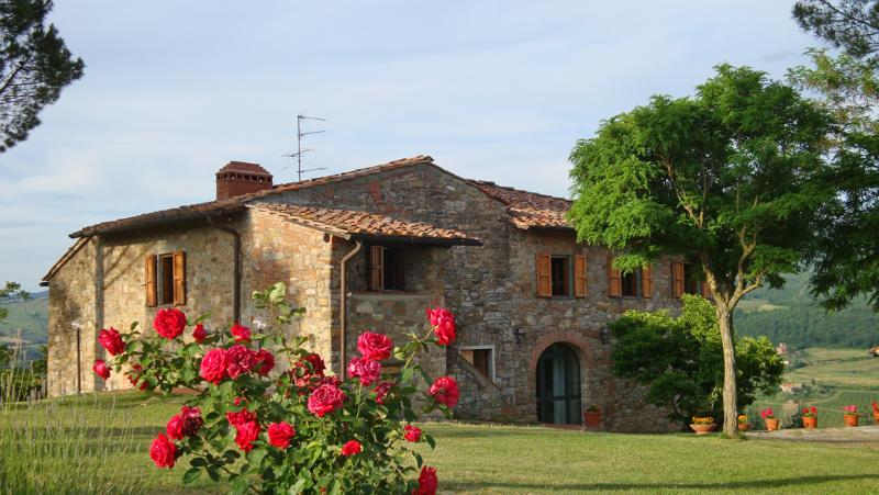Country apt (6+2 beds)  with pool, terrace, wifi - Image 1 - Rignano sull'Arno - rentals