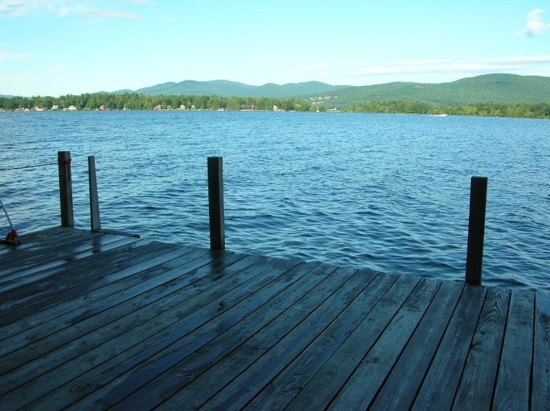 View of Assembly Point from dock - Lake George Waterfront Great for Family Reunions - Lake George - rentals