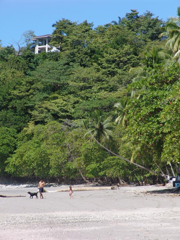 Front corner of our resort on top left. - Manuel Antonio Luxury Condo - Manuel Antonio - rentals