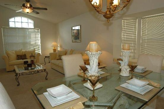 Formal lounge and dinning - 4 Bed Southern Dunes Home Golf View 17th Fairway - Haines City - rentals