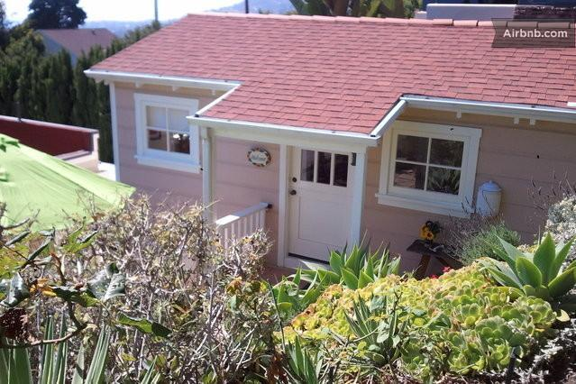 View from Garden - Charming Beach Cottage- 5 minute walk to beach! - Laguna Beach - rentals