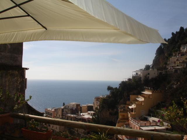 Seaview from terrace - Charming apartment In the heart of Positano - Positano - rentals