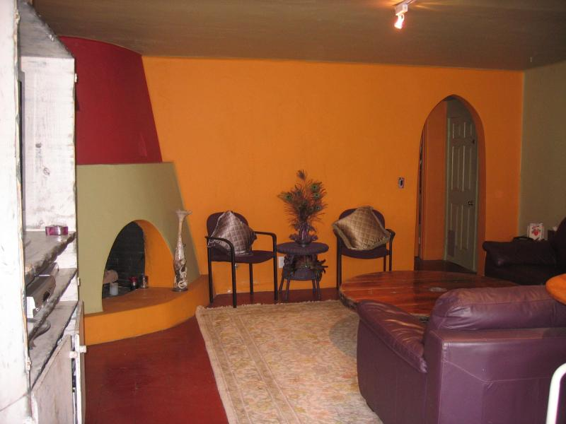 Living Room & Doorway to Master Bedroom - South Mission Beach Hidden Gem, Pet Friendly - San Diego - rentals