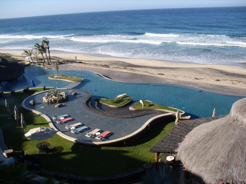 View from Balcony Overlooking Pacific Beach - New Cerritos Beachfront Penthouse (4200+ Sq Ft) - El Pescadero - rentals